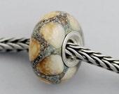 Big Python Bead  - European Charm Bracelet Bead (OCT-93)