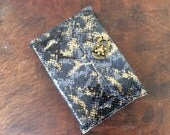 Refillable leather sketchbook in elegant designer leather by Binding bee