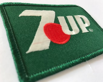 Vintage 7-Up Iron On Patch