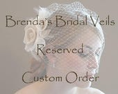Requested Custom Order Reserved for Amy