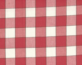 "16"" Toweling Red Buffalo Check 