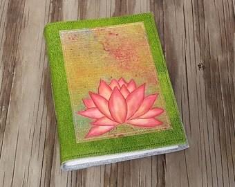 Pink Lotus journal - express yourself journal gift