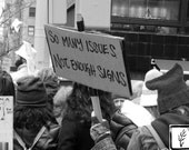Black and White Photograph, fine art, photo print, photography, wall art, home decor, protest, womens march, fotografie, fotografia