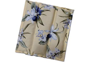 Hot Pad Lavender Scented Trivet Table Coaster Mug Rug Channel Quilted Florals Free USA Shipping
