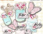 SALE PLANNER GIRL Printable Digital Images -printable planner- Digital planner Sheet- weekly planner  -Planner Printable Stickers - Stickers