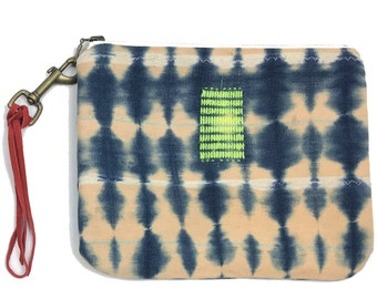 Large Pouch African Indigo | RIDE SALLY