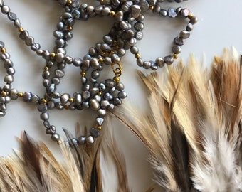 MIXED COQUE FEATHERS Natural / 245 -S
