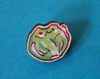 CATBAGE - wooden pin