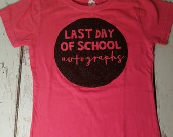 Last Day of School shirt