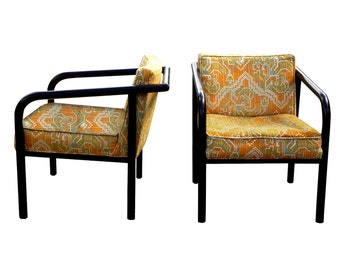Mid-Century Pair of Lounge Chairs by Directional