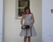 """NEW The Handmaiden's Cottage """"Charlotte"""" Dress PDF Pattern for girls, Sizes 3T, 4T, 5, 6, 7, 8, 10, 12 and 14"""