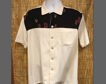 Hollywood Rogue 1950s Reproduction Panel Shirt (Only 2 Made !)