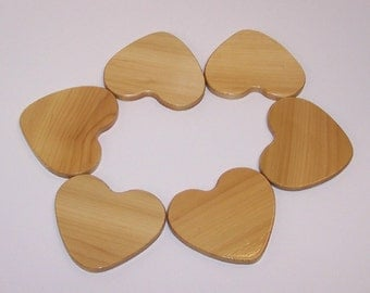 HEART Coaster Set (set of 6)