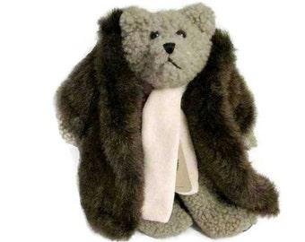 Boyds Bears Skidoo plush toy - Circa mid 1990s - Poseable