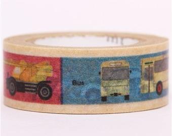 182002 vehicle mt Washi Masking Tape deco tape