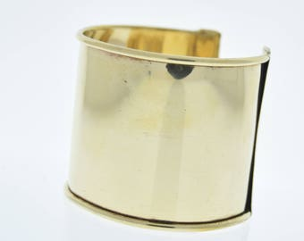 Cuff Bracelet for Embellishment, Channel for adding art or other media , sold by each J855G
