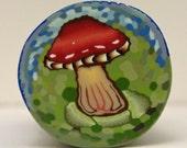 Polymer Clay Cane Mushroom