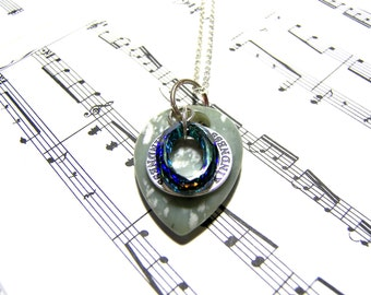 Affirmation Pendant Crystal Pendant Peace Stone Pendant Gift Ideas Most Popular Jewelry