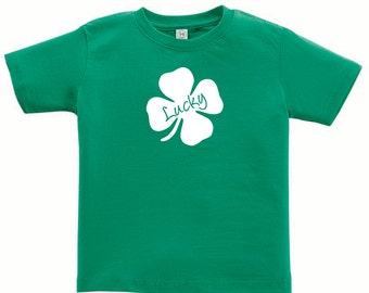 Lucky- St. Patrick's Day Short Sleeve T-shirt for toddler/youth