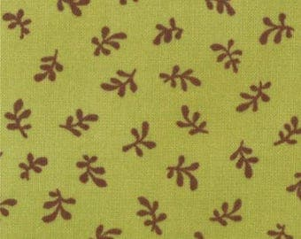 Hard to Find Sophie by Chez Moi fabrics by Chez Moi for Moda, Sophie Green Leaf 44 inches wide cotton fabric