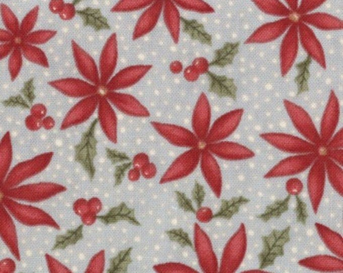 Christmas Fabric, Sentiments by 3 Sisters for Moda Cotton Fabric