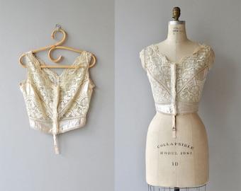 Belle Jour lace camisole | Edwardian lace camisole | 1910s lace corset cover