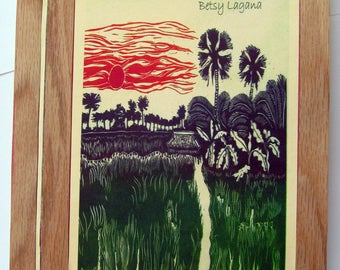 Lagana's  memoir,  The Last Real  Death, in nature, in the Thai canal lands, in life, in Buddhism