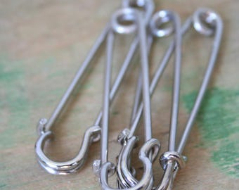 Vintage Kilt PINS - Silver Color