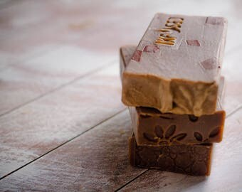 Gingerbread Scented Cold Process Soap
