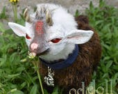 Ryuu, Baby Demon Goat - OOAK Art Doll