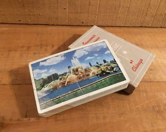 Chicago Cards Vintage Playing Cards Plastic Wrapping