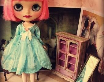 Blythe Silk Dress - Teal