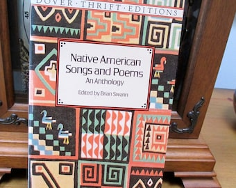 "Native American Songs and Poems 1996 An Anthology Ed Brian Swann  50 Plus Poems Example ""Song for Bringing a Child into the World"" Seminole"