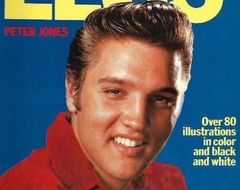 1976 Elvis Presley Elvis by Peter Jones hard back book Octopus Books Limited