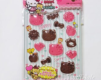 Sanrio Hello Kitty clear chocolate mold (B)