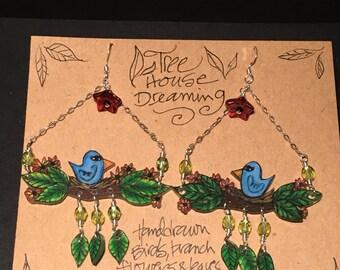 Tree House Dreaming earrings
