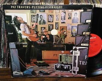 Pat Travers Putting It Staright Vintage Vinyl Record