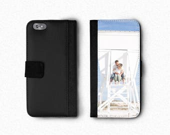 Personalized Wallet Phone Case, iPhone Wallet Case, iPhone 7 Wallet Phone Case, iPhone 6s Wallet Phone Case, iPhone 5 Wallet Phone Case