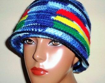 Rolling Bowls, Crochet Cap