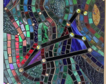 Leo the Lion, Stained Glass, Mosaic, Astrology, Horoscope, Night Sky, Constellation