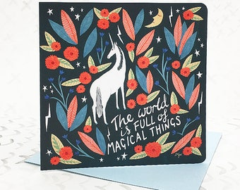 Magical Things Card