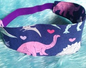 Dinosaur Hearts Headband