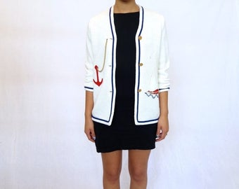 35% OFF SPRING SALE The Nautical Cardigan