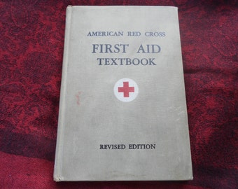First Aid Textbook Revised Edition 1945
