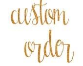 Custom Listing for Alecia