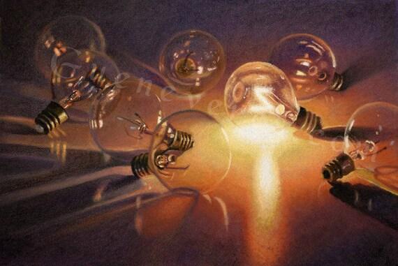 "Archival Print of ""Spontaneous Light"""