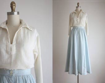 cotton gauze tunic