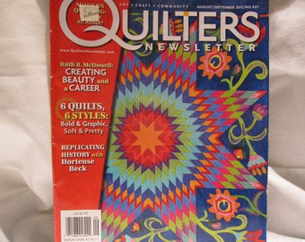 Quilters Newsletter magazine,quilting patterns, inspiration,
