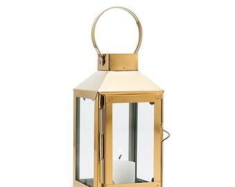 Decorative Candle Lantern - Gold, Event, Trend Chalkboard Inspired Wedding