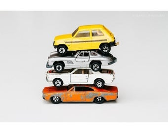 Toy Car Print, Still Life Photography, Vintage Toys, Kids Room Decor, Man Cave Art, Matchbox Cars, Car Photography, Nursery Decor, Art